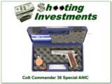 Colt Lightweight Commander XSE .38 Super ANIC
