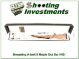 Browning A-bolt II Maple Octagonal 243 NIB!
