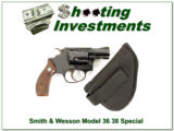 Smith & Wesson 36 no dash 38 Special