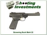 Browning Buckmark 22LR 2 magazines