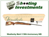 Weatherby Mark V 300 50th Anniversary 1995 NIB