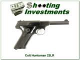 Colt Huntsman 5in early 1956 22LR