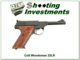 Colt Woodsman 4.5in 1950 22LR