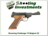 Browning Challenger 72 Belgium Exc Cond!