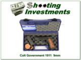 Colt 1911 Government Model 1992 rare 9mm Crimson Trace
