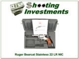 Ruger Bearcat 3in Stainless 22 Engraved NIC!