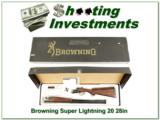 Browning Citori Super Lightning 20 Gauge 28in in box!