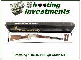 Browning 1886 Hi-Grade 45-70 US Forest Service NIB!