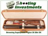 Browning Superposed 20 Gauge Pigeon 28in Skeet