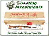 Winchester Model 70 Super Grade 300 NIB New Haven