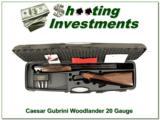 Caesar Guerini Woodlander 20 Gauge in case