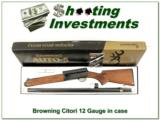 Browning A5 Light 12 unfired in box 28in invector