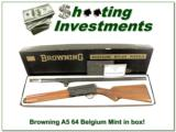Browning A5 64 Belgium Light 12 MINT in box!