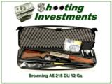 Browning 2015 A5 Duck Unlimited New, Unfired, Perfect! - 1 of 4