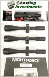 NightForce 3.5-15x50 NXS Tactical Riflescope w/ LV.5 crosshair