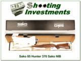 Sako 85 Hunter 370 Sako magnum 9.3X66 NIB!