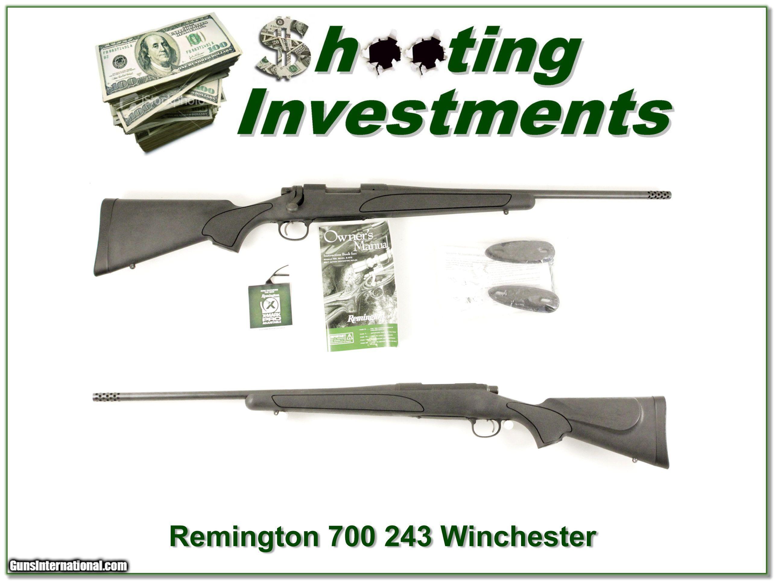 Remington 700 youth 243 with muzzle break
