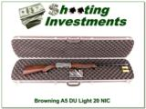 Browning A5 Ducks Unlimited 20 Gauge NIC!