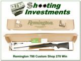 Remington 700 Custom Shop 270 Winchester - 1 of 4