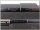 Weatherby Mark V original Fibermark 26in 270 Wthy Mag - 4 of 4