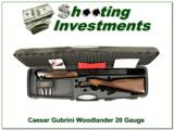 Caesar Guerini Woodlander 20 Gauge upgraded wood in case