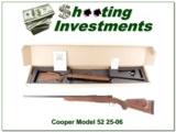 Cooper Model 52 25-06 Jackson Game Rifle AAA Wood!