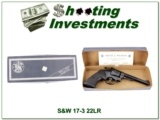 Smith & Wesson Model 17-3 22LR in box
