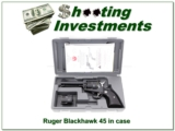 Ruger Blackhawk New Model 45 LC & 45 ACP