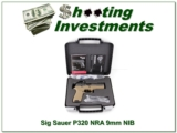 Sig Sauer P320 F NRA 9mm unfired in box!