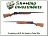 Browning A5 1953 Belgium 12 Ga 28in Solid Rib Mod
