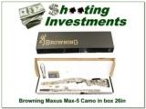 Browning Maxus Max-5 12 Ga 3.5in ANIB!