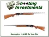 Remington 1100 28 Ga Vent Rib Skeet Excellent!