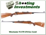Winchester 70 XTR 270 New Haven Exc Cond!
