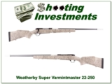 Weatherby Super Varmintmaster in 22-250