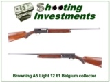 Browning A5 Light 12 61 Belgium collector!