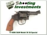 Smith & Wesson Victory 38 / 200 British Service Revolver
