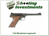 Colt Woodsman 1923 Engraved Exc Cond!