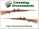 Ruger 77 Liberty 1976 made RARE 250 Savage collector!