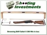 Browning BAR Safari II in 300 Win Mag in box