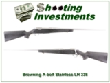 Browning A-bolt Stainless Stalker Left Handed 338 Win