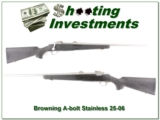 Browning A-bolt Stainless Stalker in rare 25-06!