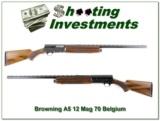 Browning A5 12 Magnum 70 Belgium Vent Rib