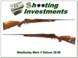 Weatherby Mark V Deluxe 30-06 26in 9-lug!!