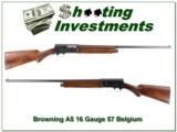 Browning A5 1957 Belgium 16 Gauge 28in Mod!