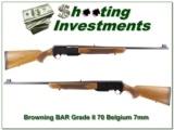 Browning BAR Grade II 70 Belgium 7mm Rem Mag!