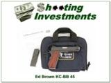 Ed Brown KC-BB 45 in case