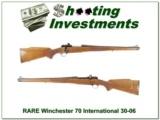 Winchester 70 RARE Mannlicher 30-06 Collector!