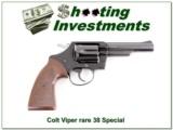 RARE Colt VIPER 38 Special 4in 1969