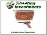 Colt Woodsman Sport 1976 NIB!