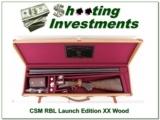 CSMC RBL Launch Edition 20 Ga 28in XX Wood!